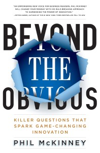 Cover for Beyond The Obvious - a book by Phil McKinney